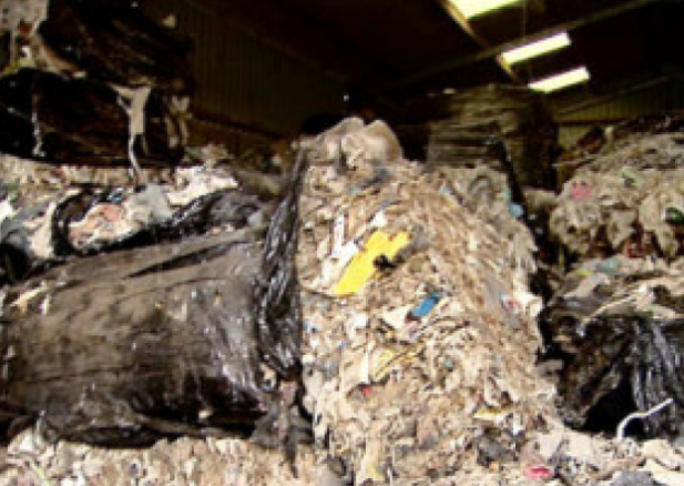 Waste dumped at Edinburgh farm