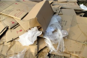 Man fined after fly-tipping commercial waste