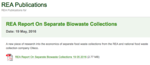 LARAC criticises biowaste report from REA